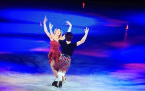 Skaters do Highland Fling 1